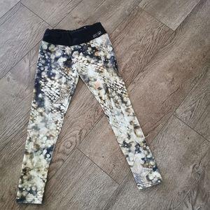 3/$12 Justice girls leggings size 7